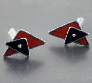 New Mojo retro cufflinks